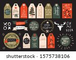 merry christmas and happy new... | Shutterstock .eps vector #1575738106