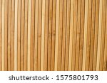 Wall With Wooden Sticks. Texture