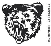 bear head vector illustration... | Shutterstock .eps vector #1575820633