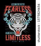 vector  tiger illustration for...   Shutterstock .eps vector #1575824656