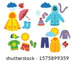 Set Of Children\'s Season...