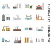 plant and factory vector... | Shutterstock .eps vector #1575906943