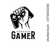 video games related t shirt... | Shutterstock .eps vector #1576010206