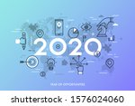 infographic concept  2020  ... | Shutterstock .eps vector #1576024060