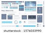 vector ui ux kit. universal...