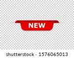 new banner. isolated vector web ... | Shutterstock .eps vector #1576065013