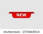 new banner. isolated vector web ... | Shutterstock .eps vector #1576065013
