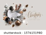 christmas background with... | Shutterstock .eps vector #1576151980