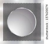 metal background  | Shutterstock .eps vector #157620074