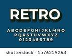 modern styled 3d trendy set of... | Shutterstock .eps vector #1576259263