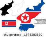 democratic people's republic of ...   Shutterstock .eps vector #1576283830
