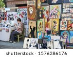 georgia  tbilisi   october 5 ...   Shutterstock . vector #1576286176