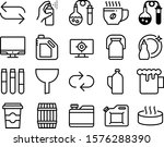 liquid vector icon set such as  ... | Shutterstock .eps vector #1576288390