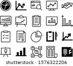 report vector icon set such as  ... | Shutterstock .eps vector #1576322206