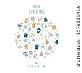 christmas icons elements...   Shutterstock .eps vector #1576331416
