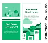 real estate development ... | Shutterstock .eps vector #1576402156