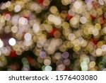 gold and red christmas light... | Shutterstock . vector #1576403080