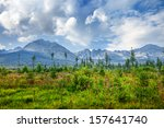 mountains in national park high ... | Shutterstock . vector #157641740