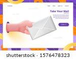 vector site banner concept  ... | Shutterstock .eps vector #1576478323