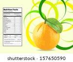 nice design for orange... | Shutterstock .eps vector #157650590