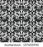 lace  fabric seamless  pattern... | Shutterstock . vector #157655930