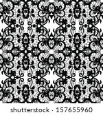 lace  fabric seamless  pattern... | Shutterstock . vector #157655960