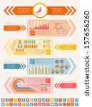 IT Industry Infographic Elements - stock photo