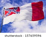 Confederate Flag Flying In The...