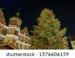 night view of christmas tree... | Shutterstock . vector #1576606159