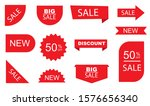 sale tags. sale label... | Shutterstock .eps vector #1576656340