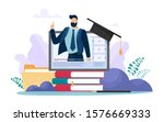 online training or business... | Shutterstock .eps vector #1576669333