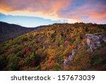 Blue Ridge Mountain Sunset In...
