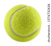 Tennis Ball Isolated Without...