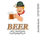 beer.best family traditions ... | Shutterstock .eps vector #157673393