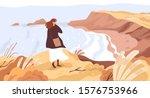nature exploration flat vector... | Shutterstock .eps vector #1576753966