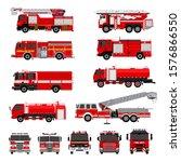 fire engines  fire trucks... | Shutterstock .eps vector #1576866550