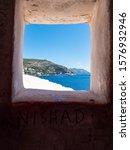 View Of The Adriatic Coast...
