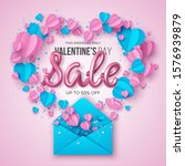 happy valentines day sale... | Shutterstock .eps vector #1576939879