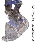 part of modern excavator... | Shutterstock . vector #1576961263