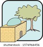 colored vector icon of rachel...   Shutterstock .eps vector #1576966456