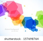abstract background with... | Shutterstock .eps vector #157698764