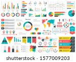 infographics charts. financial... | Shutterstock .eps vector #1577009203