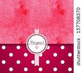 vector envelope for invitations ... | Shutterstock .eps vector #157708370