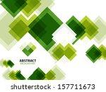 Green Modern Geometrical...