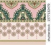 colorful seamless arabian... | Shutterstock .eps vector #1577132470