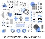 memphis design elements... | Shutterstock .eps vector #1577190463