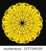 mandala vintage luxury... | Shutterstock .eps vector #1577194159