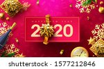 2020 happy new year promotion... | Shutterstock .eps vector #1577212846