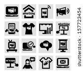 elegant marketing and... | Shutterstock .eps vector #157723454