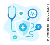 healthcare vector illustration. ... | Shutterstock .eps vector #1577256646